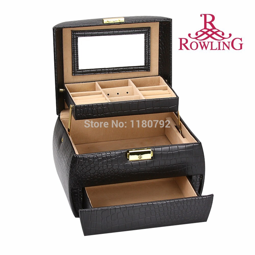 black jewellery boxes wholesale