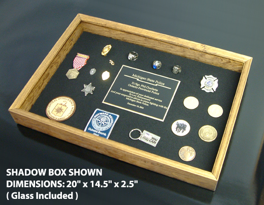 diy shadow box jewelry case