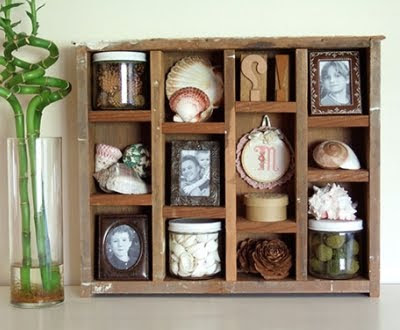 diy shadow box jewelry display