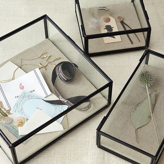 glass shadow jewelry box