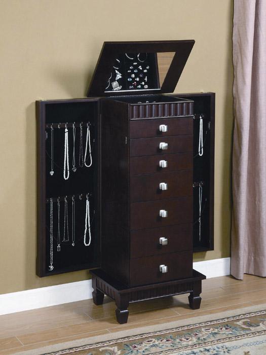 ikea black jewelry armoire