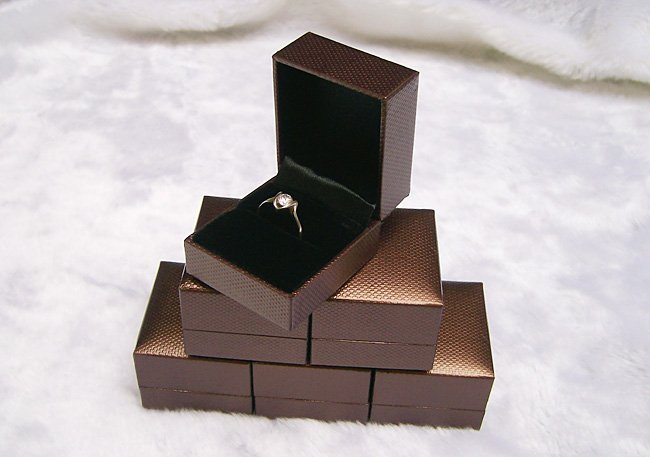 brown jewelry boxes wholesale
