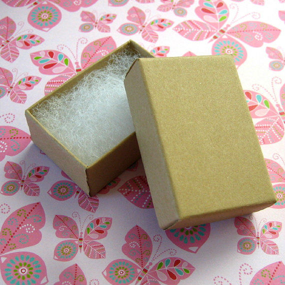brown kraft jewelry boxes wholesale