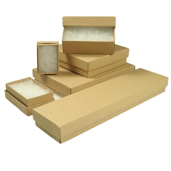 brown kraft jewelry boxes