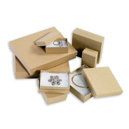 bulk kraft jewelry boxes