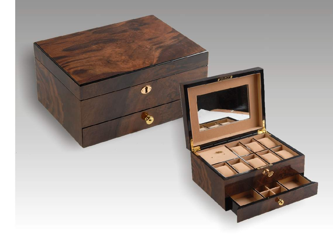 bulk wooden jewelry boxes