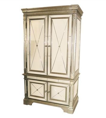cheap jewelry armoire mirror