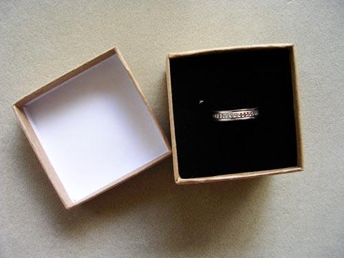 kraft jewelry boxes free shipping