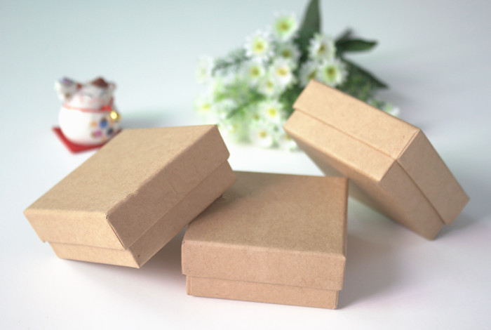 kraft paper jewelry boxes