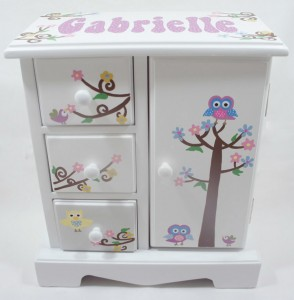 Personalized Baby Girl Jewelry Box. Picture: Ben A. Pruchnie/Getty Images Source:Getty Images