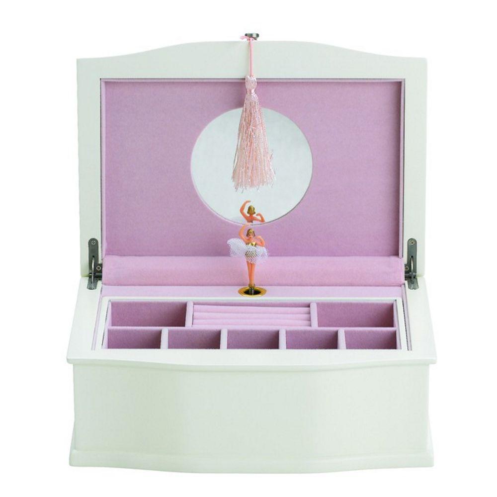 reed and barton jewelry box ballerina