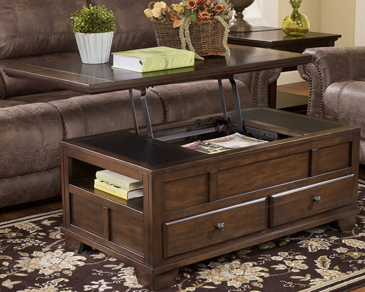Ashley lift top coffee table