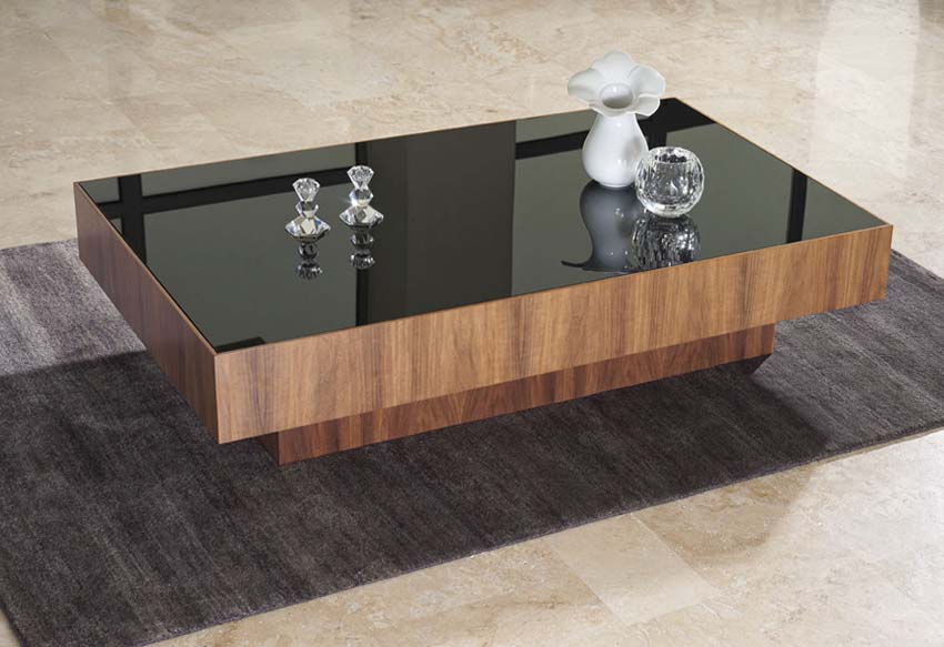 Black glass coffee table argos