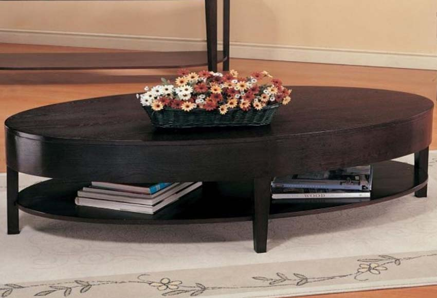 Cval coffee tables with storage