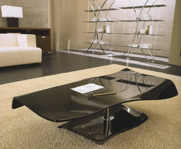 Modern coffee table black