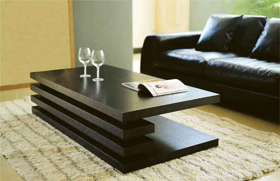 Very modern coffee tables