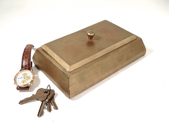 Personalized Wood Men's Jewelry Box For Watches. Picture: Christopher William Adach Source:Flickr.