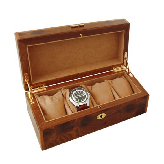 Watch box wood for luxury watches