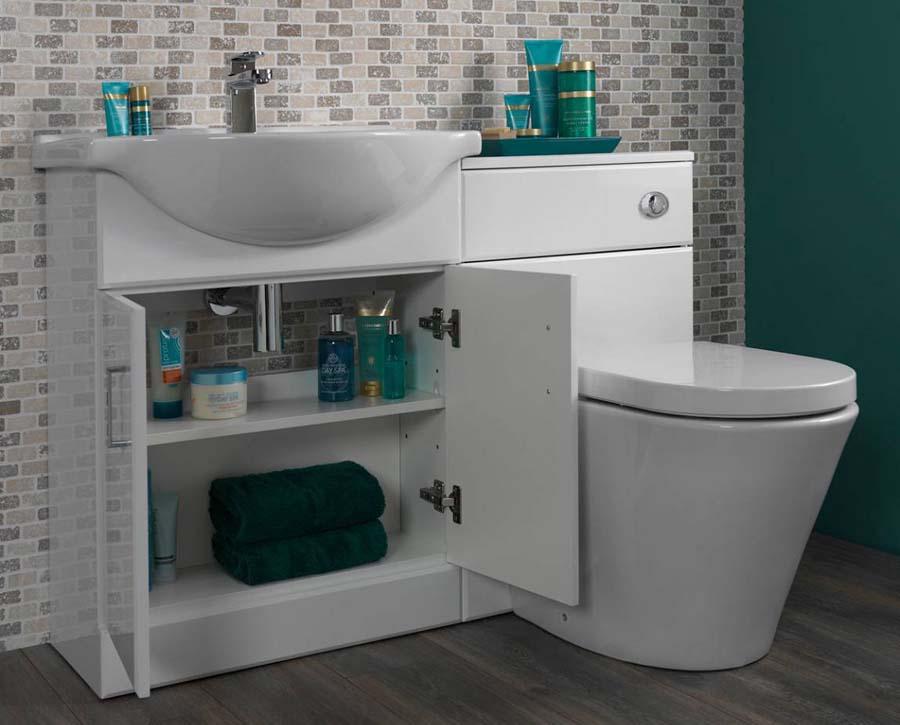 Bathroom combination vanity units uk