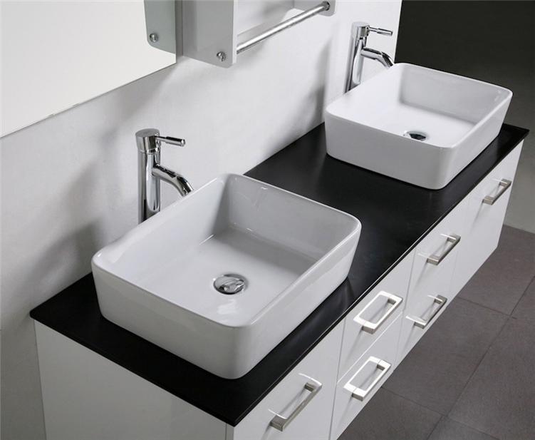 Bathroom vanity unit tops