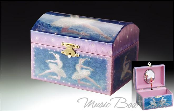 Child jewelry box ballerina