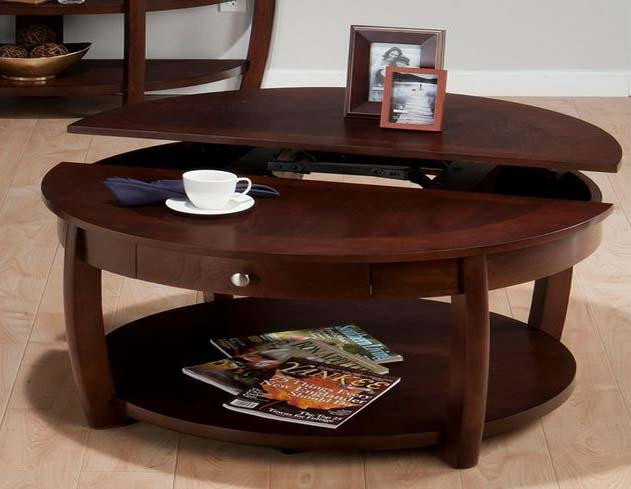 Coffee table with lift up top uk