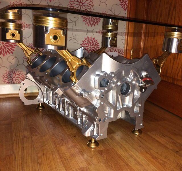 Engine coffee table ebay