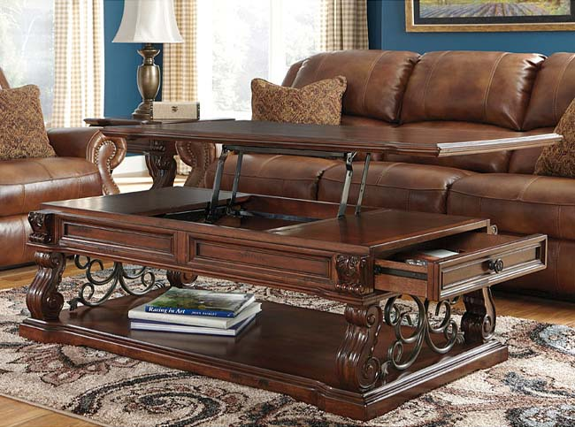 Lift up top coffee table hardware kit