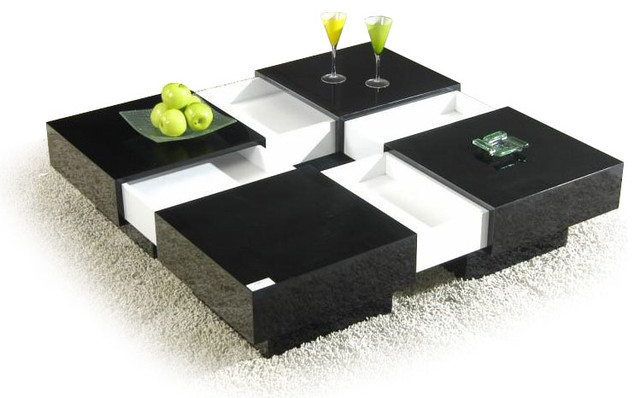 Modern contemporary square coffee tables