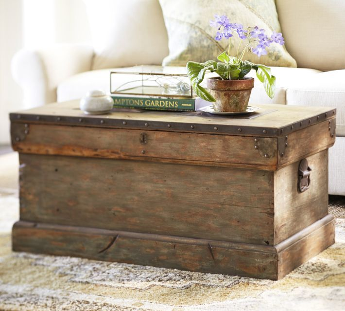 Rustic accents coffee table
