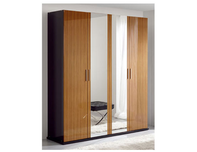 armoire closet with mirror