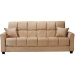 : baja convert a couch sofa bed khaki