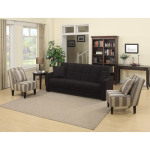 : baja convert a couch sofa bed with set of 2 recliners