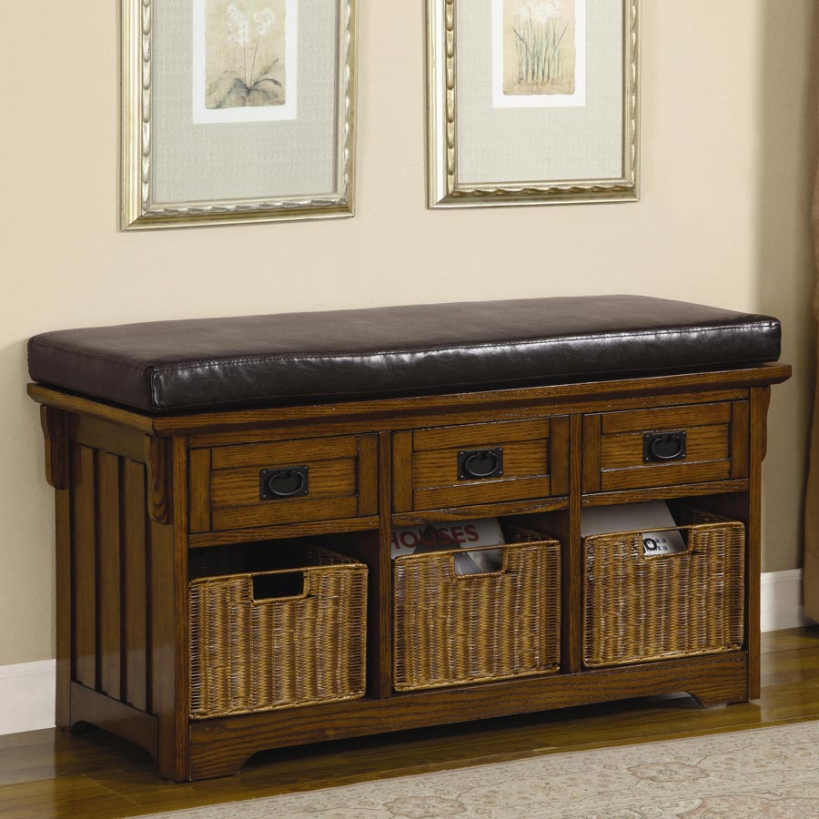 bench seat storage furniture