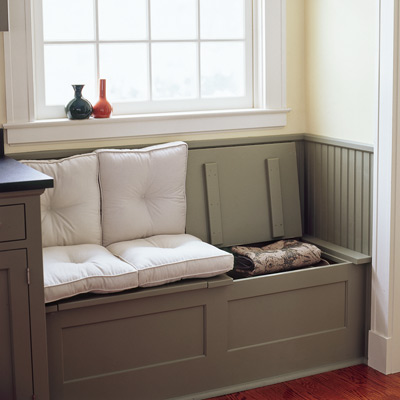 bench seating with storage for window seat
