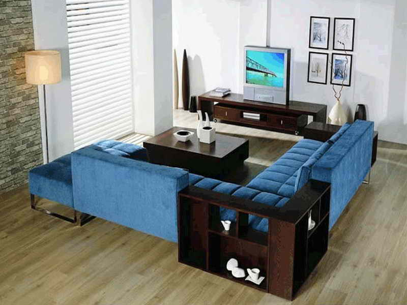 Blue Sectionals For Sale