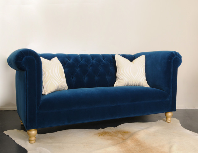 Blue leather sofa and loveseat couch sofa ideas for Blue couches for sale