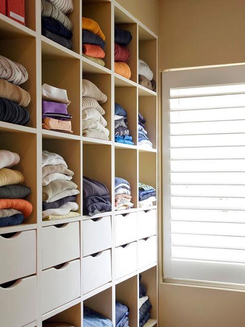 build closet cubbies
