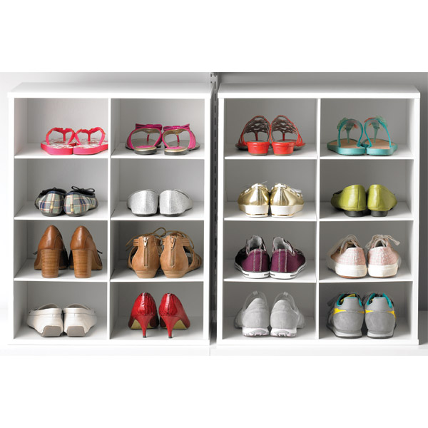 cardboard shoe organizers for closets