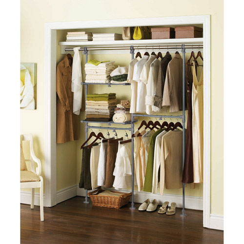 cheap closet organizer kits