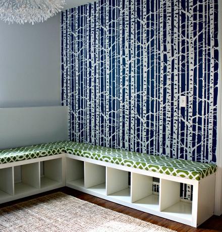 cheap diy storage bench