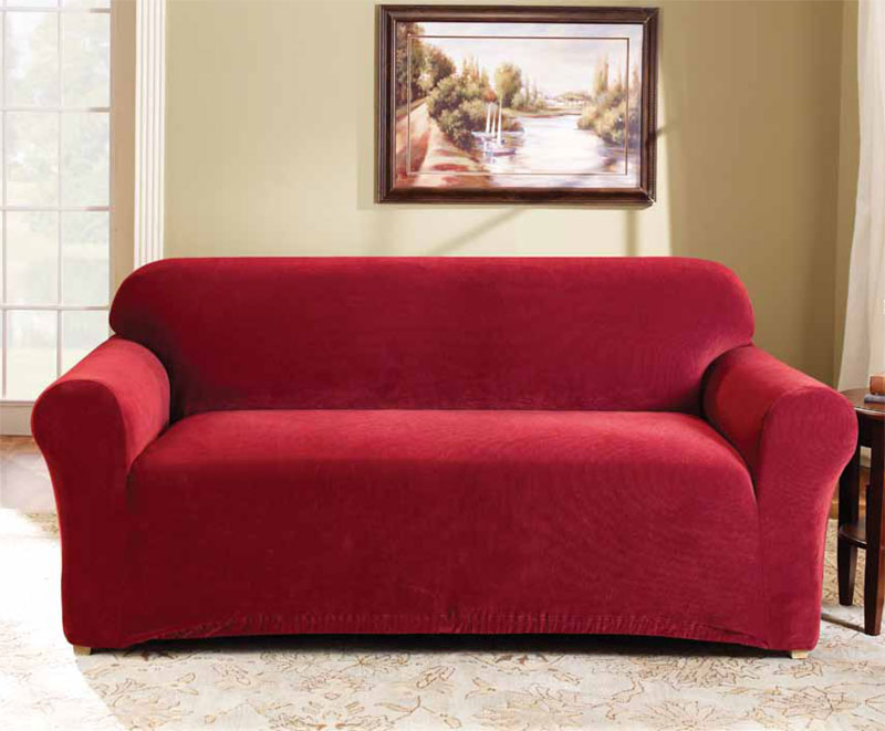 Cheap Red Couch Covers : Couch u0026 Sofa Ideas Interior ...