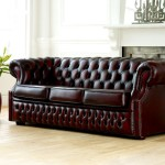 : chesterfield sectional leather