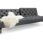 : chesterfield sofa bed leather