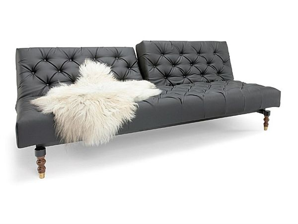 Chesterfield Sofa Bed Leather