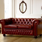 : chesterfield sofa bed red