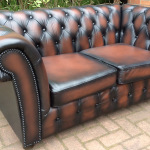 : chesterfield sofa bed second hand