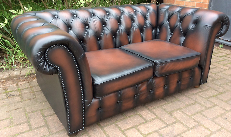 Chesterfield Sofa Bed Second Hand