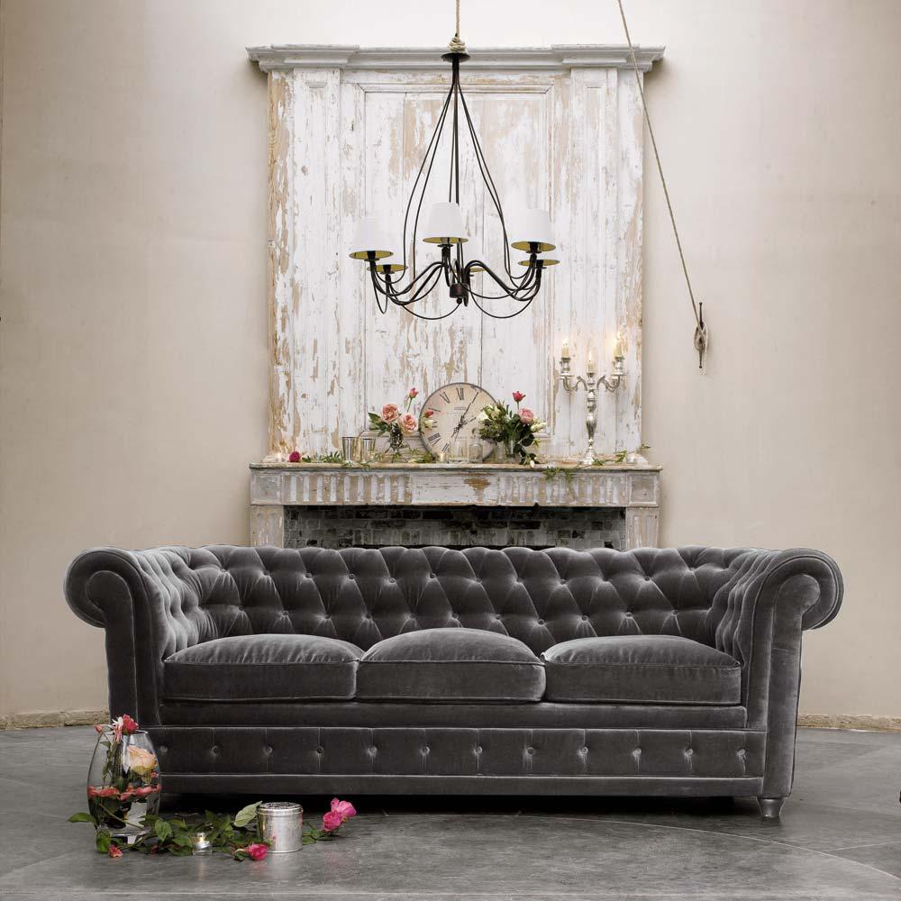Chesterfield Sofa Bed Velvet