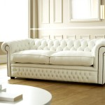 : chesterfield sofa bed white